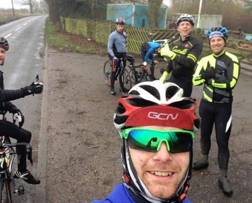 Training ride puncture